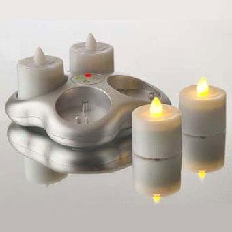 smart candle トールグラス 4ピース充電式セット
