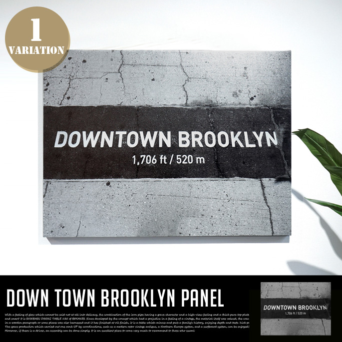 Down Town Brooklyn PANEL IAP52278