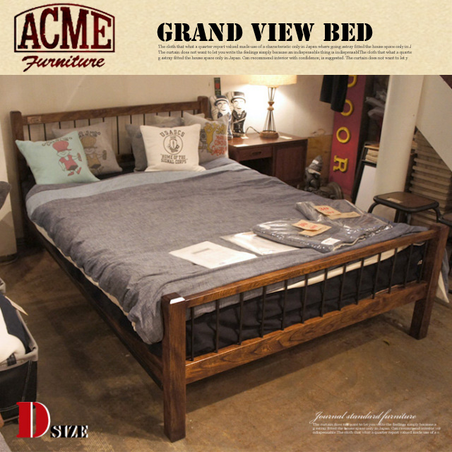 GRAND VIEW BED (グランドビュー ベッド) DOUBLE ACME(アクメ)