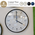 Central Time WALL CLOCK インターフォルム