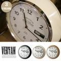 Veryan 掛時計 CL-2137 インターフォルム 全3カラー