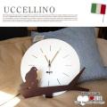 UCCELLINO(ウッチェリーノ) ウォールクロック ARTI&MESTIERI 送料無料