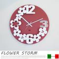 FLOWER STORM(フラワーストーム) 掛け時計 アルティ・エ・メスティエリ