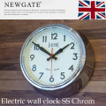 Electric wall clock SS chrom(�������륯��å�SS ���?��) �ݤ�����