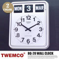 BQ-20 WALL CLOCK(ウォールクロック) パタパタクロック TWEMCO(トゥエンコ)