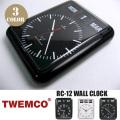 RC-12 CLOCK(電波クロック) パタパタクロック TWEMCO(トゥエンコ)