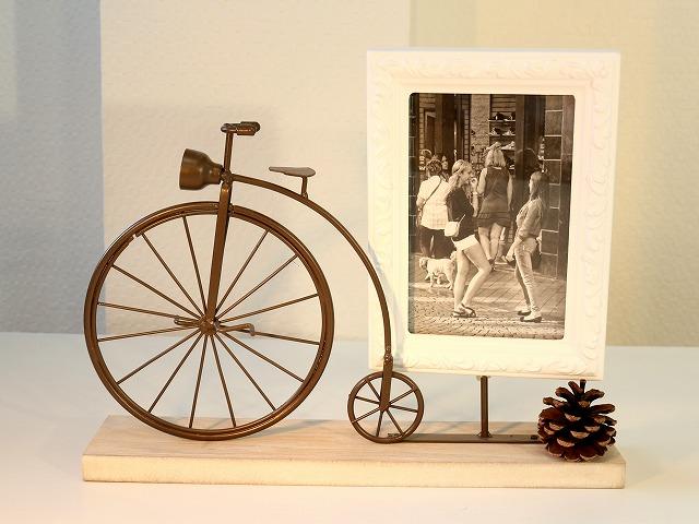 自転車の 自転車 写真立て : ... だるま自転車写真立て】 A0098