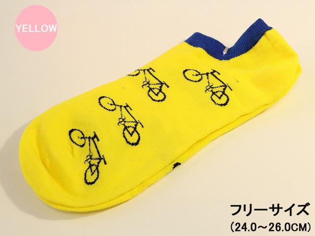 ,ソックス 自転車柄,自転車 ...