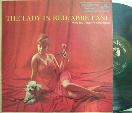 【米RCA Victor mono】Abbe Lane/The Lady In Red