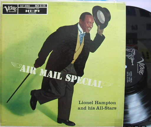 【米Verve mono】Lionel Hampton/Air Mail Special (Oscar Peterson, Buddy DeFranco)
