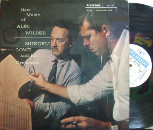 【米Riverside mono】Mundell Lowe/New Music of Alec Wilder