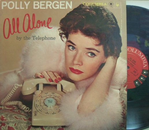 【米Columbia mono】Polly Bergen/All Alone by The Telephone