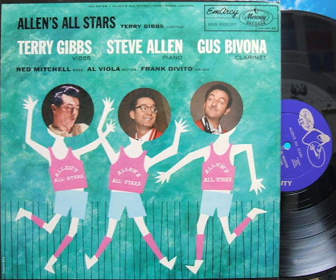 【米EmArcy mono】Terry Gibbs, captain/Allen's All Stars