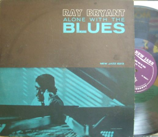 【米New Jazz mono】Ray Bryant/Alone with The Blues