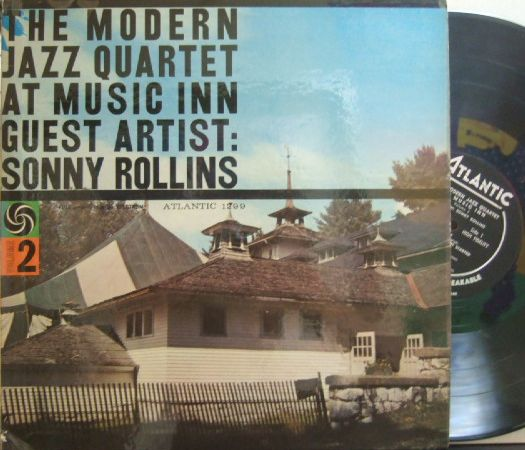 【米Atlantic mono】Modern Jazz Quartet/At Music Inn Guest Artist Sonny Rollins