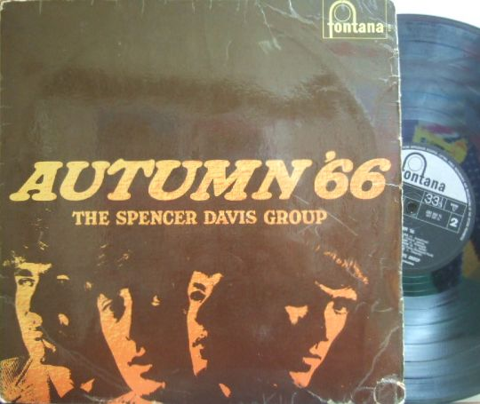 【英Fontana mono】The Spencer Davis Group/Autumn '66 (Steve Winwood)