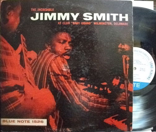 【米Blue Note 47w63rd mono】Jimmy Smith/At Club Baby Grand vol.1