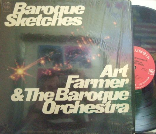 【米Columbia mono】Art Farmer & The Baroque Orchestra/Baroque Sketches