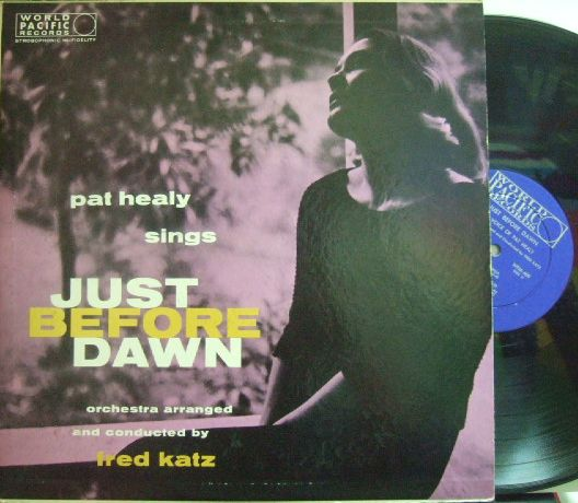 【米World Pacific mono】Pat Healy/Sings Just Before Dawn