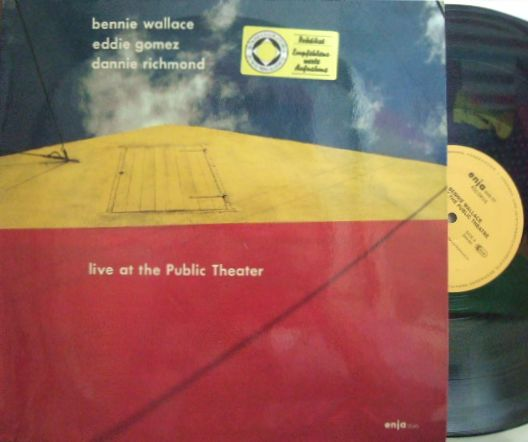 【独Enja】Bennie Wallace/Live At The Public Theater (Eddie Gomez, Dannie Richmond)