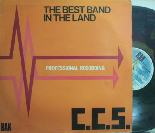 【英RAK】CCS/The Best Band In The Land (Alexis Korner, Harold McNair, Henry Lowther, Harold Beckett, etc)
