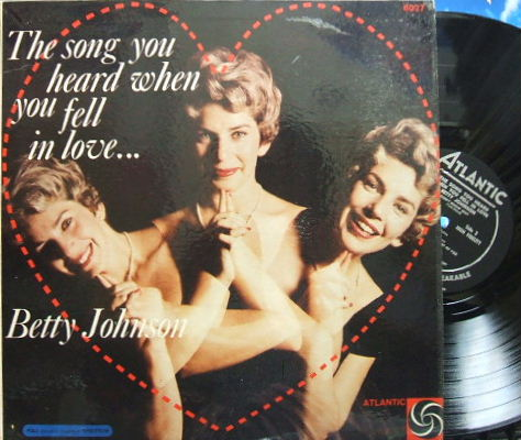 【米Atlantic mono】Betty Johnson/The Song You Heard When You Fell In Love
