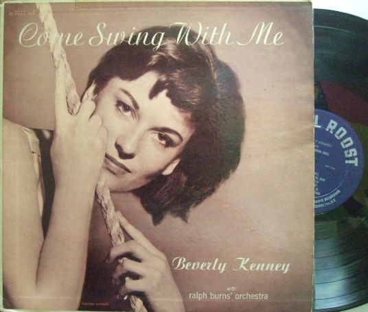 【米Roost mono】Beverly Kenney/Come Swing With Me
