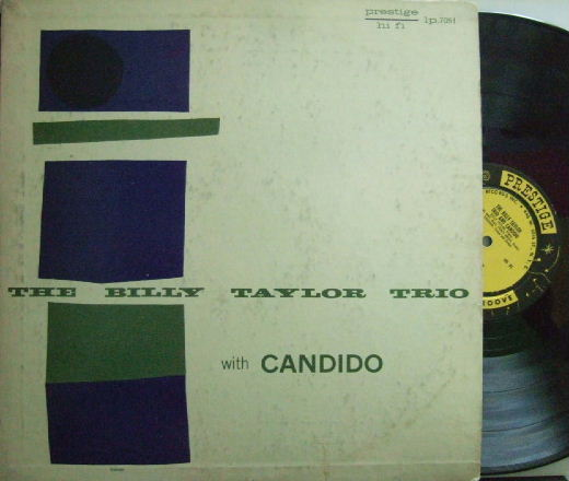 【米Prestige NYC mono】Billy Taylor/Billy Taylor Trio with Candido