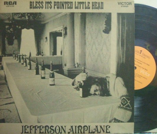 【米RCA Victor】Jefferson Airplane/Bless Its Pointed Little Head (レアなインサート付き)