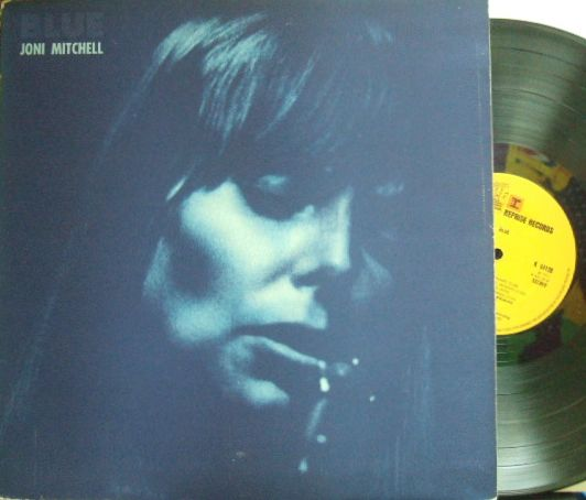 【英Reprise】Joni Mitchell/Blue (Stephen Stills, James Taylor, etc) ワーナーのロゴなし