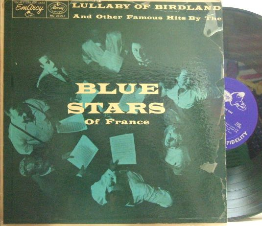 【米EmArcy mono】The Blue Stars (Blossom Dearie)/Lullaby Of Birdland