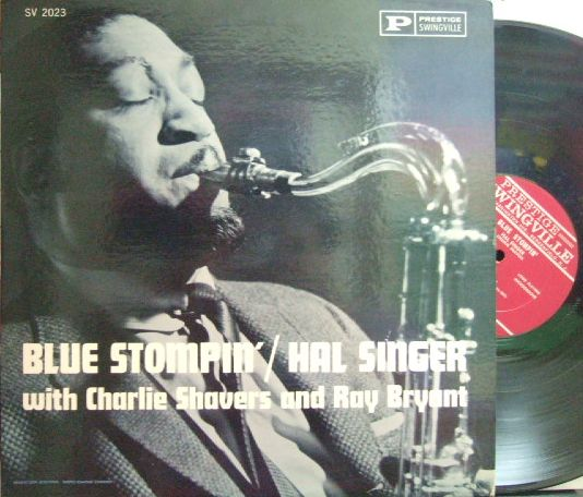 【米Swingville mono】Hal Singer with Charlie Shavers/Blue Stompin' (Ray Bryant, etc)