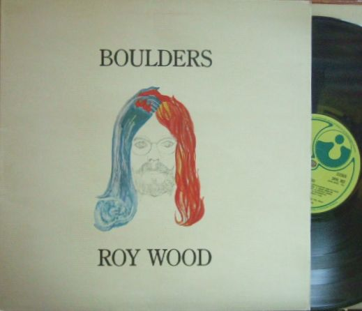 【英Harvest】Roy Wood/Boulders (ex The Move, Electric Light Orchestra) グラモフォン・リム