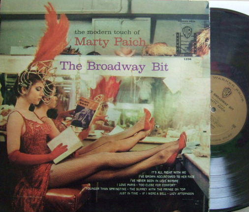 【米Warner Bros】Marty Paich/The Broadway Bit (Art Pepper, Scott LaFaro, etc)