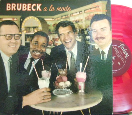 【米Fantasy mono】Dave Brubeck/Brubeck A La Mode (featuring Bill Smith)