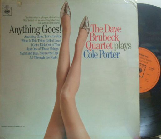 【米Columbia】Dave Brubeck/Anything Goes - plays Cole Porter
