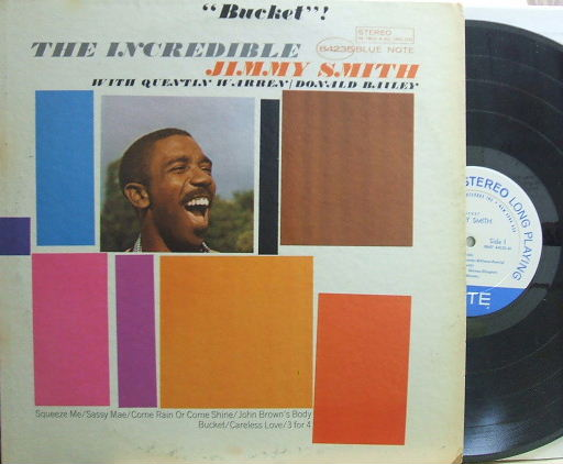 【米Blue Note NY mono】Jimmy Smith/Bucket!