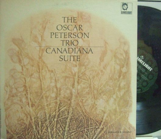 【米Limelight mono】Oscar Peterson Trio/Canadiana Suite