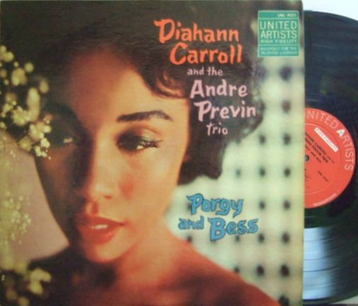 【米United Artists mono】Diahann Carroll and The Andre Previn Trio/Porgy & Bess