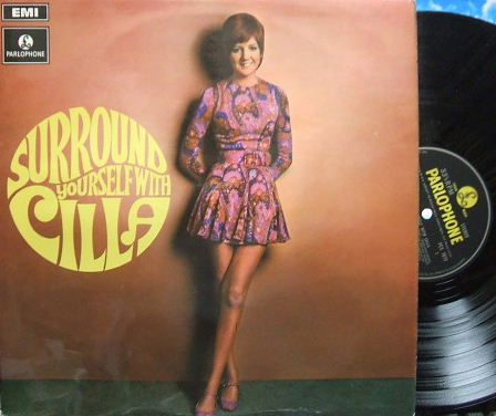 【英Parlophone】Cilla Black/Surround Yourself with Cilla