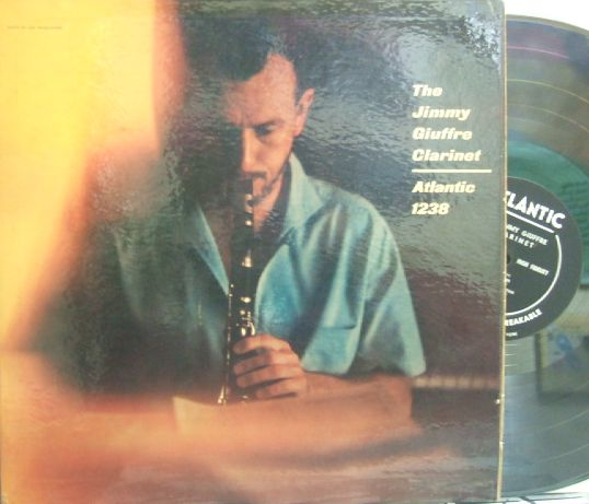 【米Atlantic mono】Jimmy Giuffre/Clarinet (Bob Cooper, Bud Shank, Jimmy Rowles, etc)