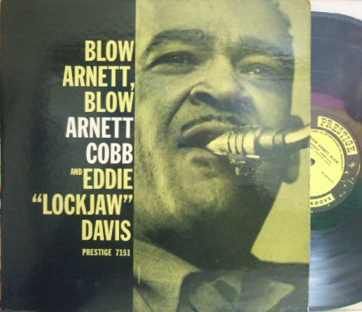 【米Status mono】Arnett Cobb and Eddie Lockjaw Davis/Blow Arnett, Blow