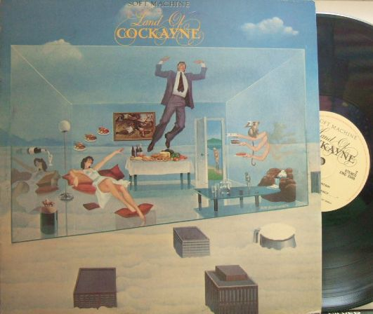 【英EMI】Soft Machine/Land of Cockayne