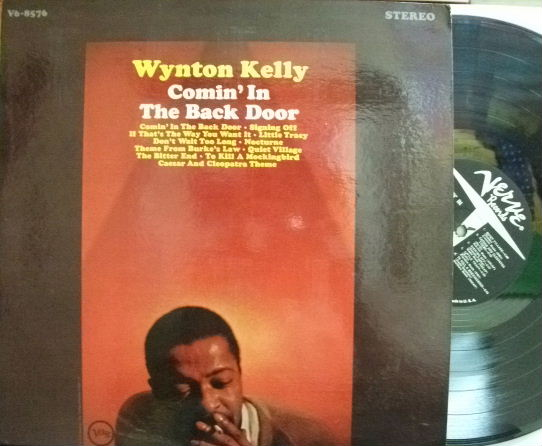 【米Verve】Wynton Kelly/Comin' In The Back Door (Kenny Burrell, Paul Chambers, etc)