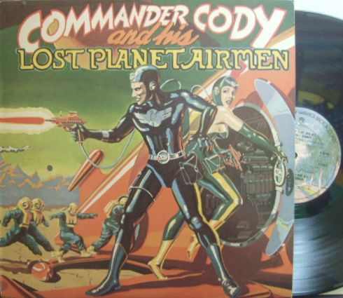 【米Warner Bros】Commander Cody And His Lost Planet Airmen/Same (ワーナーのロゴなし)