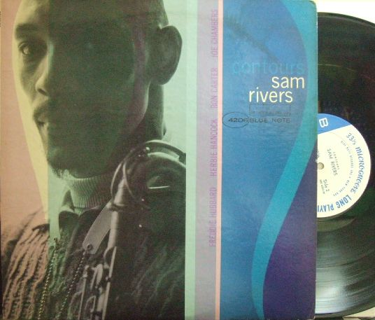【米Blue Note NY mono】Sam Rivers/Contours (Herbie Hancock, Freddie Hubbard, etc)