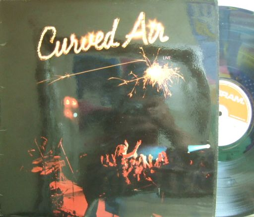 【英Deram】Curved Air/Live