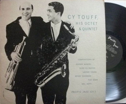 【米Pacific Jazz mono】Cy Touff/His Octet & Quintet (Richie Kamuca, etc)