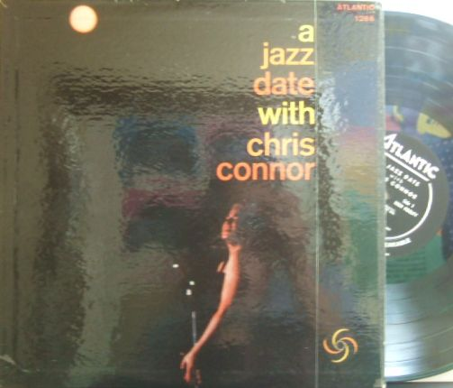【米Atlantic mono】Chris Connor/A Jazz Date (Eddie Costa, Al Cohn, Joe Wilder, etc)