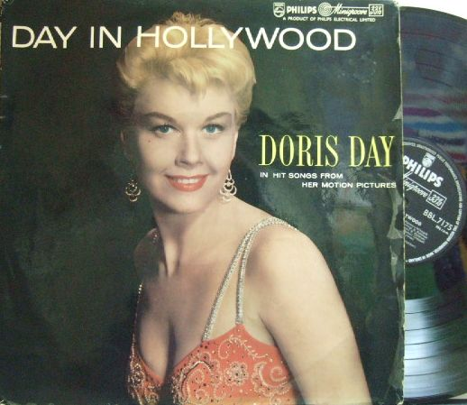 【英Philips mono】Doris Day/Day in Hollywood